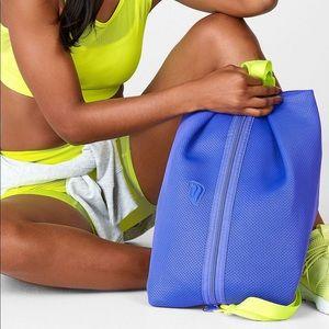 NEW Fabletics Workout Backpack Blue! NWT!